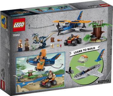 LEGO 75942 LEGO Jurassic World – Velociraptor: salvataggio in biplano