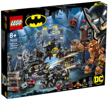 LEGO 76122 Super Heroes DC Comics – Batman Clayface e l'invasione della bat-caverna