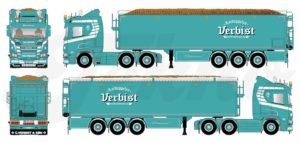 *PREORDINE* Scania Next Gen R650 Highline- Verbist – TEKNO 80716 – 1/50