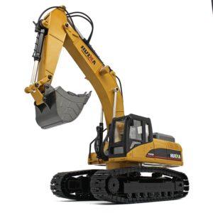 HUINA – 580 V4 – CH1580 – Escavatore metallo rc 2,4g – 23ch v.4
