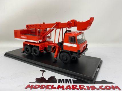 START SCALE MODELS – TATRA – T815 UDS-114A TRUCK 3-ASSI HASICI FIRE ENGINE 1983 –