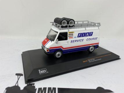 IXO-MODELS – FIAT – 242 VAN FIAT ASSISTANCE RALLY MONTECARLO 1979 – 1/43