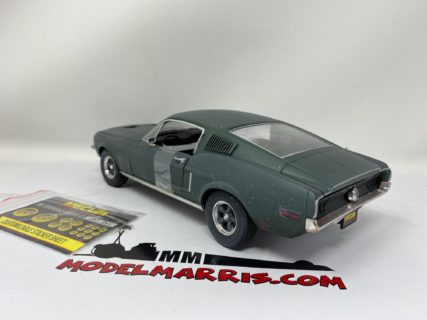 GREENLIGHT – FORD USA – MUSTANG GT390 COUPE 1968 – BULLIT – STEVE McQUEEN – Mecum Auction –  UNRESTORED 2020