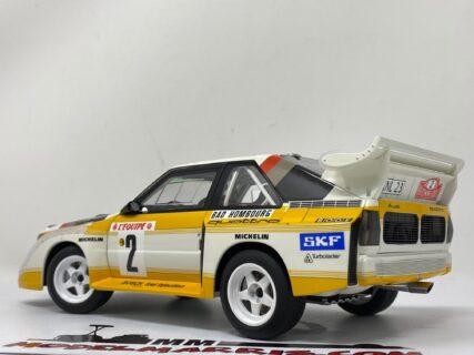 AUTOART – AUDI – QUATTRO SPORT S1 N 2 RALLY MONTECARLO 1986 W.ROHRL – C.GEISTDORFER