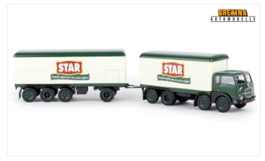 BREKINA PLAST – FIAT – 690 TRUCK MILLEPIEDI 4-ASSI STAR 1961- 1/87