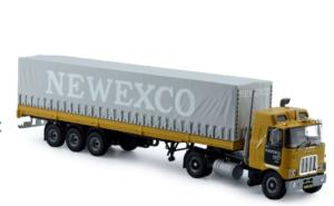 Tekno – Newexco Mack F700 curtainside semitrailer – 71480 -1/50