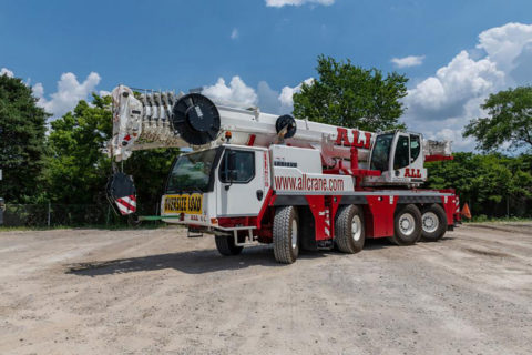 All Crane Hire; LIEBHERR LTM 1090-4.2 – WSI – 51-2052 – 1:50