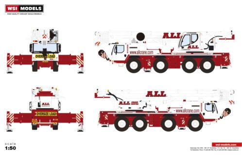* PREORDINE * All Crane Hire; LIEBHERR LTM 1090-4.2 – WSI – 1/50