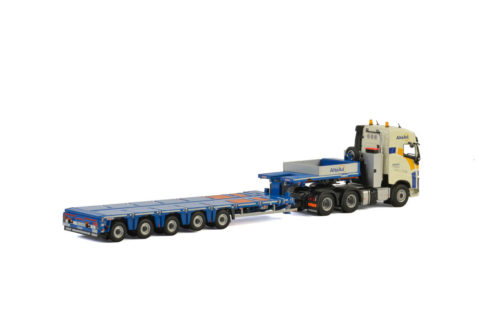 Altéad – VOLVO FH4 GLOBETROTTER 6×4 Nooteboom MCO PX – 5 AXLE – 1:50 – WSI – 01-2463