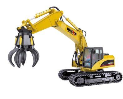 – HUINA – CH1571 – Escavatore cingolato con pinza rc 2,4g