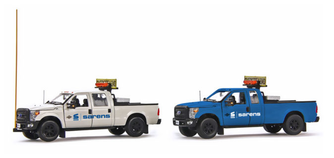 Sarens Ford F250 trucks – IMC – 1/50