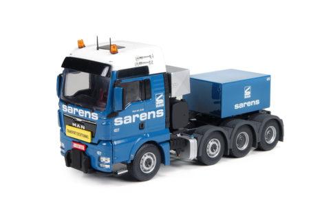 Sarens MAN TGX XXL 8×4 with ballastbox – IMC – 1/50