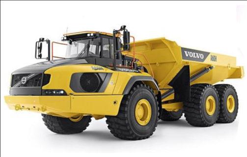 TAMIYA 58676 1/24 RC Volvo A60H Hauler 6×6 Telaio G6-01 *telecomando non incluso*