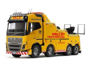 TAMIYA – 56362 – 1/14 – RC – Volvo FH16 Globetrotter 750 8×4 – Tow Truck – Carro Attrezzi