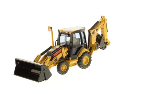 85143 Cat 420E Backhoe Loader (Pivot) – DIECAST MASTERS 1/50