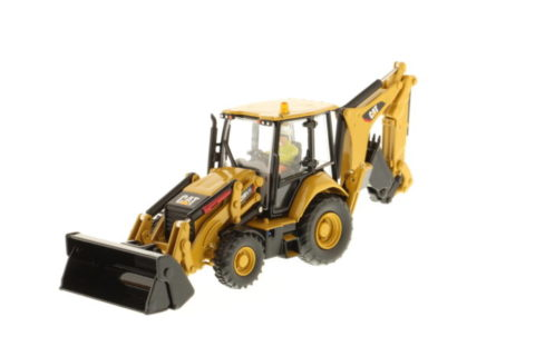 85233 Cat 420F2 Backhoe Loader (Pivot) – DIECAST MASTERS 1/50