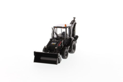 Cat 420F2 Backhoe Loader, Black Finish – DIECAST MASTERS – 85234 – 1:50