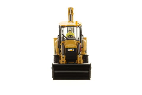 85249 Cat 432F2 Side Shift Backhoe – DIECAST MASTERS 1/50