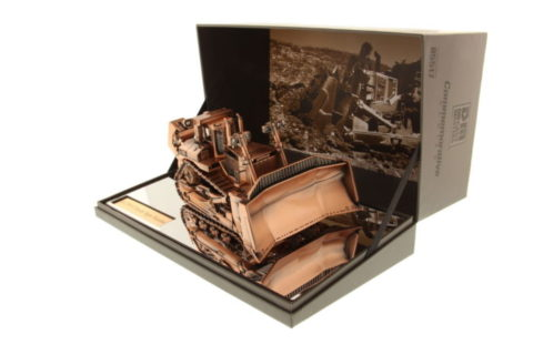 85517 Cat D11T Track Type Tractor Copper finish – DIECAST MASTERS