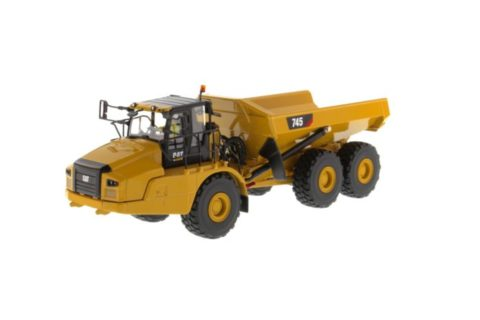 85528 Cat 745 Aticulated Truck – DIECAST MASTERS