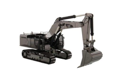 85547 Cat 390F L Hydraulic Excavator – Gunmetal – DIECAST MASTERS 1/50