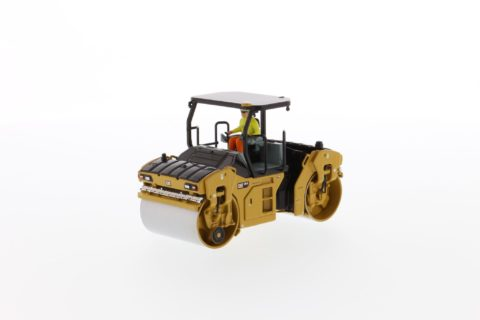 Cat CB-13 Tandem Vibratory Roller with ROPS – DIECAST MASTERS – 85594 – 1:50