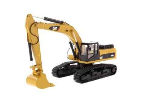 85908c Cat 340D Hydraulic Excavator – DIECAST MASTERS 1/50