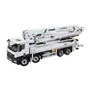 MB Arocs 8×4 – Schwing – S43SX pompa beton – NZG – 951 – 1:50
