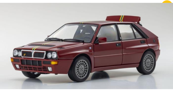KYOSHO – LANCIA – DELTA INTEGRALE EVO2 – FINAL EDITION 1992