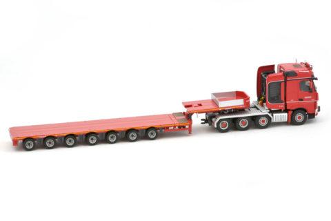 Nooteboom Redline MCO 7-axle Semi Lowloader with Mercedes-Benz Arocs Bigspace 8×4  Code  5584537