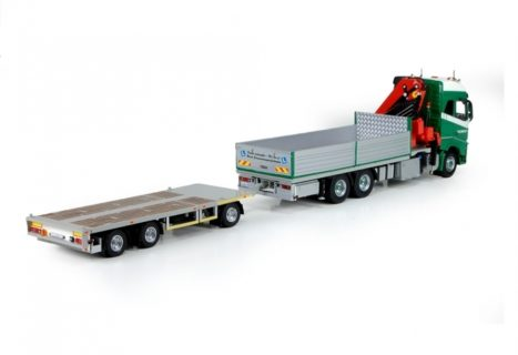Volvo Brunner / B-keuze rigid truck with trailer -1/50 – TEKNO – 71773-B