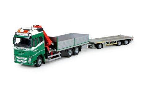 Volvo Brunner / B-keuze rigid truck with trailer -1/50 – TEKNO – 71773-B