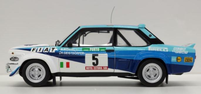 * PREORDINE * KYOSHO – FIAT – 131 ABARTH WORKS OLIO FIAT N 5 WINNER RALLY PORTUGAL 1980 W.ROHRL – C.GEISTDORFER