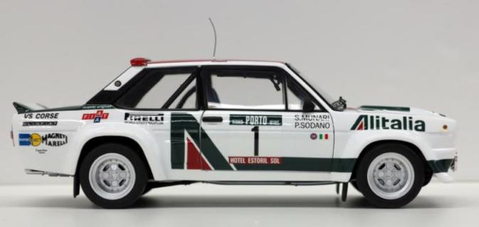 * PREORDINE *  KYOSHO – FIAT – 131 ABARTH ALITALIA N 1 RALLY PORTUGAL 1978 S.MUNARI – P.SODANO