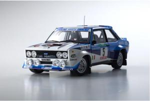 KYOSHO – FIAT – 131 ABARTH WORKS OLIO FIAT N 5 WINNER RALLY PORTUGAL 1980 W.ROHRL – C.GEISTDORFER