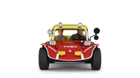 ***PREORDINE*** Bud Spencer Terence Hill & Puma Dune Buggy 1972 – 1:18 – LAUDORACING –