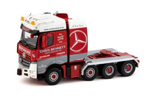 Chris Bennett Mercedes Benz Arocs Bigspace 8×4