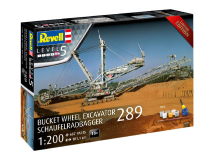 REVELL 05685 1/200 Gift Set Bucket Wheel Excavator 289 / Schaufelradbagger 289