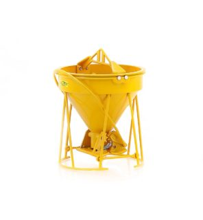 "GAR-BRO R-SERIES ""Gar-Bro""  Concrete bucket – WEISS BROTHER –  WB002-01902 – 1:50"