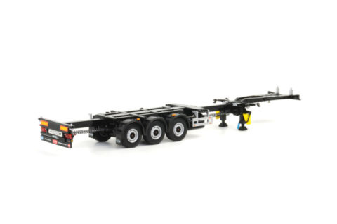 White Line; CONTAINER TRAILER – 3 AXLE – WSI – 03-1010 – 1:50
