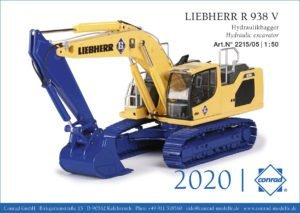 LIEBHERR R 938 V – GIORGETTI – CONRAD 2215/05