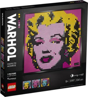LEGO 31197 LEGO Art – Andy Warhol's Marilyn Monroe