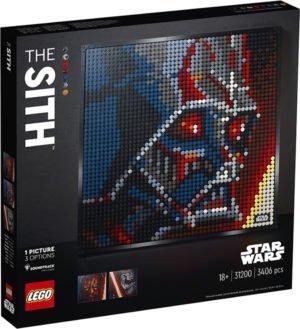 LEGO 31200 LEGO Art – I Sith di Star Wars