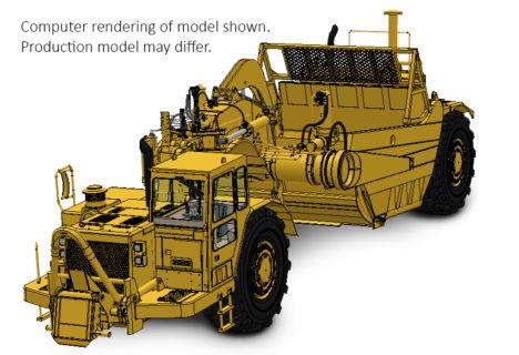 *PREORDINE CAPARRA*  1:48 Cat®657E Wheel-Tractor Scraper – CCM – CLASSIC CONSTRUNCTION MODEL