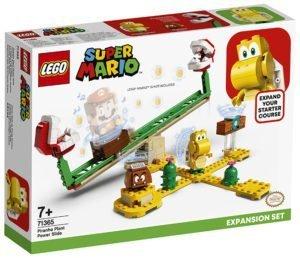 LEGO 71365 LEGO Super Mario – Pack di Espansione: Scivolo della Pianta Piranha