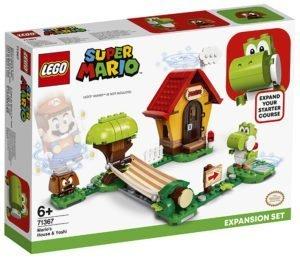 LEGO 71367 LEGO Super Mario – Pack di Espansione: Casa di Mario e Yoshi