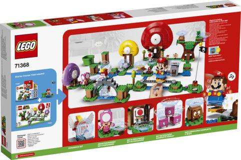 LEGO 71368 Super Mario – Pack di Espansione: La caccia al tesoro di Toad