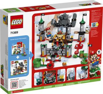 LEGO 71369 LEGO Super Mario – Pack di Espansione: Battaglia finale al castello di Bowser