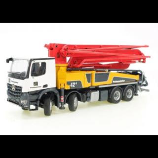PUTZMEISTER M42-5RZ Concrete pump on MERCEDES-BENZ Arocs 4-axle – Conrad – 1:50 – 78199/03