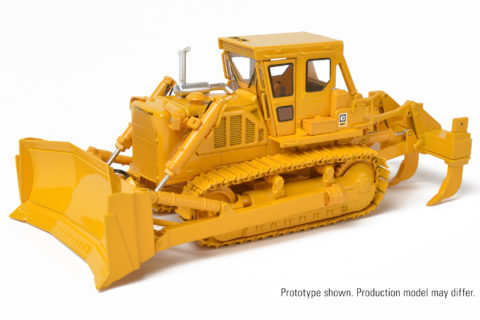 1:48 Cat® D8K Dozer with U-Blade – CCM – CLASSIC CONSTRUCTION MODEL –
